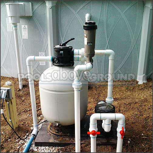 Above Ground Pool Plumbing Ft Myers FL
